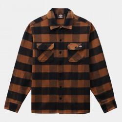 DICKIES, New sacramento shirt, Brown duck