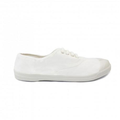 Tennis lacet - Blanc
