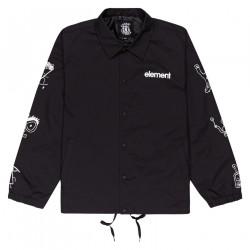 ELEMENT, Galaxy coach jacket, Flint black
