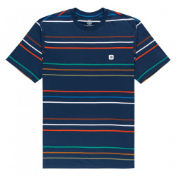 ELEMENT, Hovden stripes ss, Insignia blue