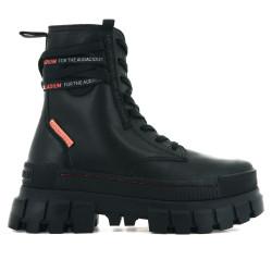 PALLADIUM, Revolt boot lth, Black/black