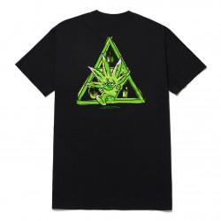 HUF, T-shirt green buddy tt ss, Black