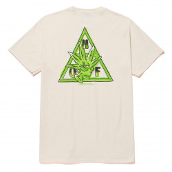 HUF, T-shirt green buddy tt ss, Natural