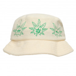 HUF, Cap green buddy terry cloth bucket, Natural