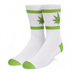 HUF, Socks green buddy athletic, White