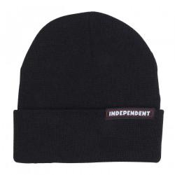 INDEPENDENT, Bar beanie, Black