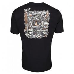INDEPENDENT, Crust t-shirt, Black