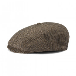 BRIXTON, Brood snap cap, Brown/khaki
