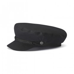 BRIXTON, Fiddler cap, Black