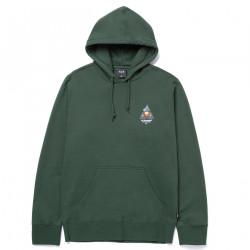 HUF, Sweat video format tt hood, Dark green