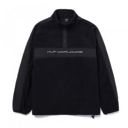 HUF, Sweat cascade polar fleece, Black