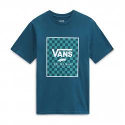 VANS, Print box boys, Blue coral/checkerboard