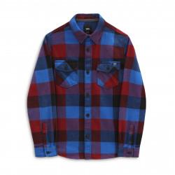 VANS, Box flannel boys, Pomegranate/nautical blue