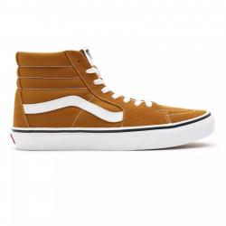 VANS, Sk8-hi, Golden brown/true white