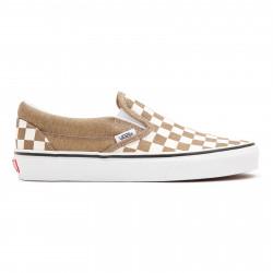 VANS, Classic slip-on, (checkerboard) bronze age/true white