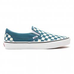 VANS, Classic slip-on, (checkerboard) blue coral/true white