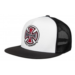 INDEPENDENT, Truck co mesh, White/black