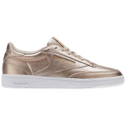 REEBOK, Club c 85 melted metal, Pearl met-peach/white