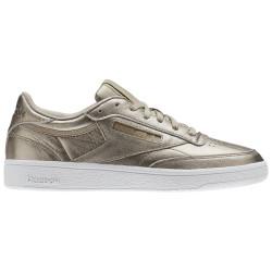 REEBOK, Club c 85 melted metal, Pearl met-grey gold/white