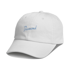 DIAMOND, Gulf script sports hat sp18, White