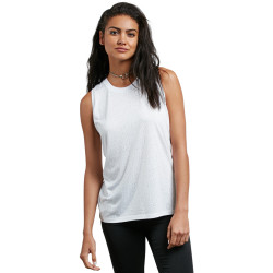VOLCOM, Mix a lot tank, White
