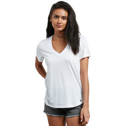 VOLCOM, Mix a lot vneck, White