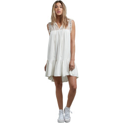 VOLCOM, Sea y'around dress, Star white