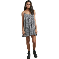 VOLCOM, Thx its a new dress, Black white