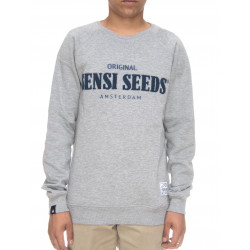 SENSI SEEDS, Crewneck terry, Heather grey