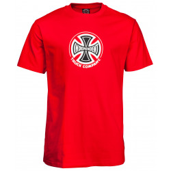 INDEPENDENT, Truck co tee, Red
