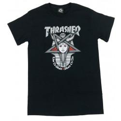 THRASHER, T-shirt goddess, Black