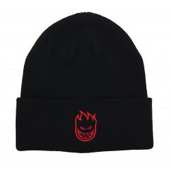 SPITFIRE, Beanie bighead standard cuff, Black red