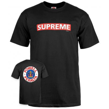 T-shirt supreme - Black