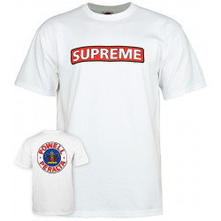 POWELL PERALTA, T-shirt supreme, White