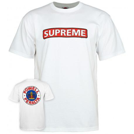 T-shirt supreme - White