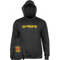 POWELL PERALTA, Sweat supreme hood, Charcoal