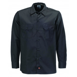 DICKIES, L/s slim shirt, Black