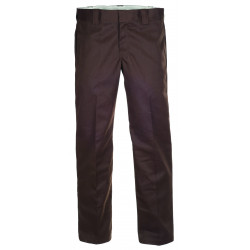 DICKIES, S/stght work pant, Chocolate brown