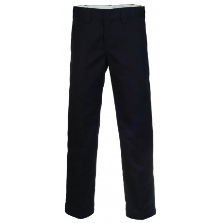 S/stght work pant - Black