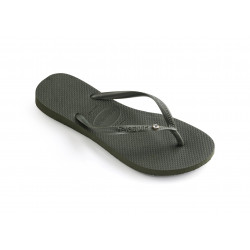 HAVAIANAS, Slim crystal glamour sw, Hav. slim crystal glamour sw olive green