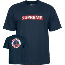 POWELL PERALTA, T-shirt supreme, Navy